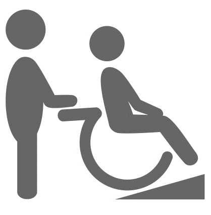image of a wheelchair