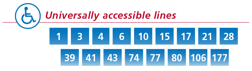 ligne accessible